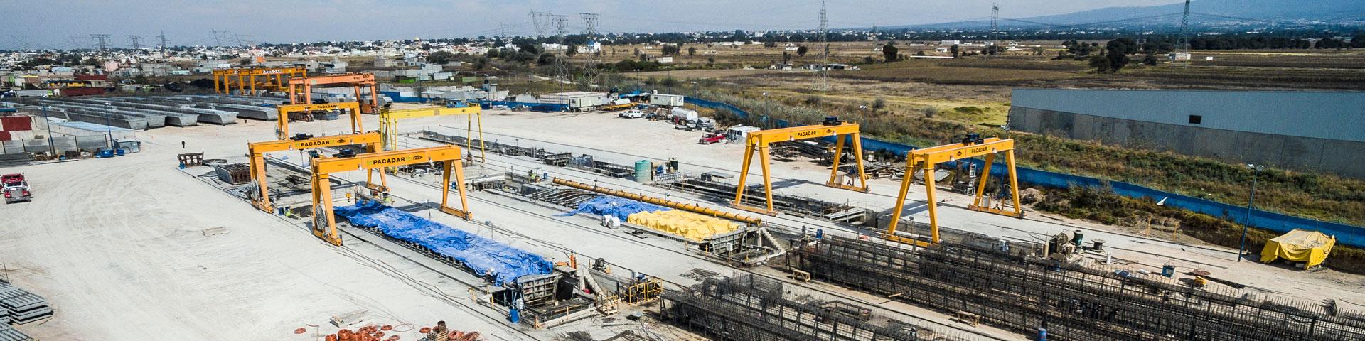 PACADAR - A precast concrete plant wherever you need it