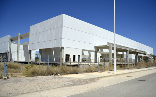 Sports Centre in El Puerto de Sagunto, Valencia (Spain)